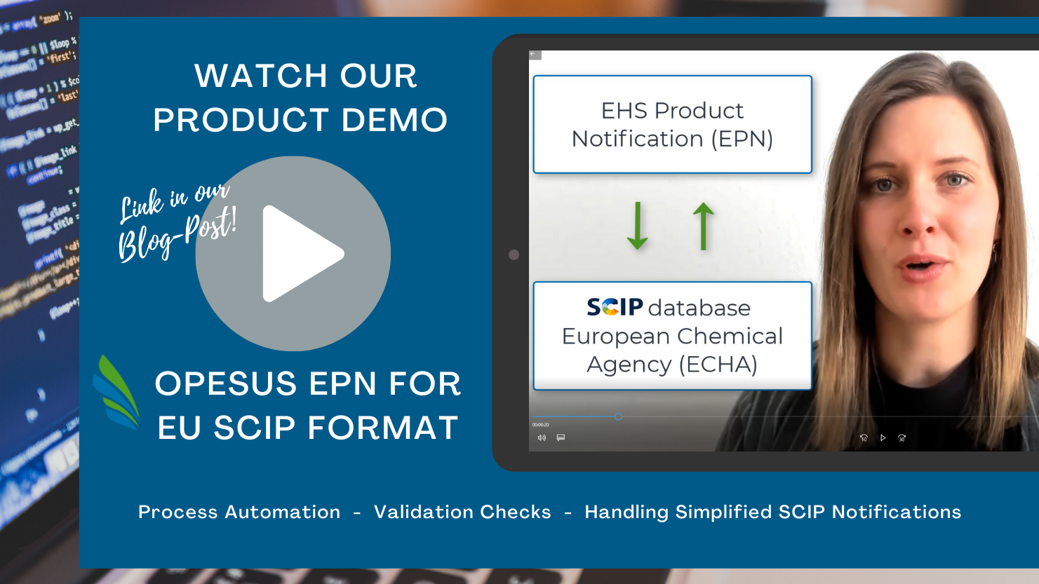 Product Demo EPN for EU SCIP Format