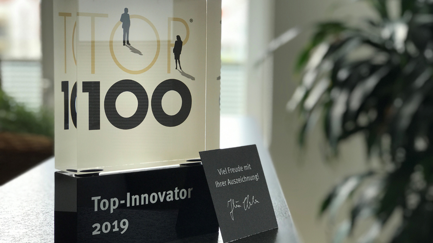 opesus was awarded the German Top 100-Innovator Award in 2019